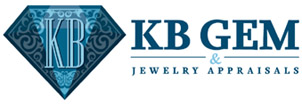 KB Gem and Jewelry Appraisals Logo